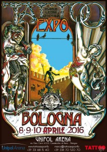 bologna tattoo expo 2016