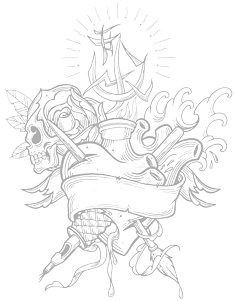 Logo di The Max tattoo - Lugo (RA)