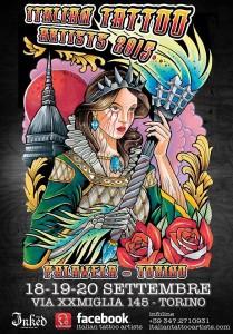 italian tattoo artist torino 2015